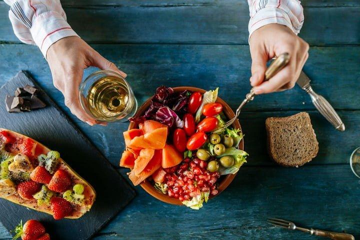 رژیم غذایی و بهبود افسردگی