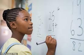 مهارت ریاضیات در دختران و پسران