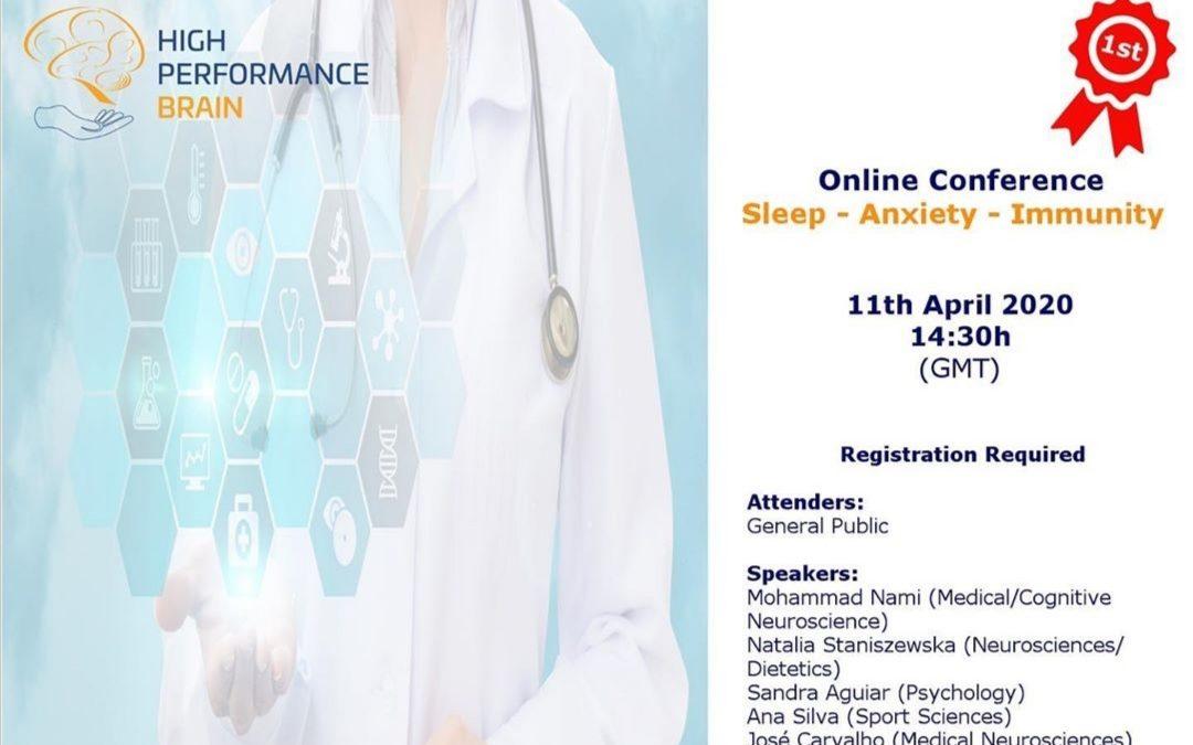 """کنفرانس آنلاین بین المللی """"خواب-اضطراب-ایمنی"""" توسط دکتر محمد نامی"""