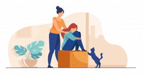 9 راه کمک وقتی یکی از عزیزانمان افسردگی دارد.